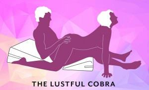 Liberator Wedge/Ramp Combo Sex Position Lustful Cobra