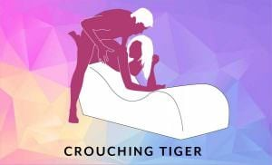 Liberator Esse Chaise Sex Position Crouching Tiger