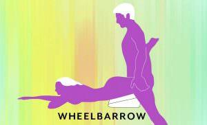 Liberator Heart Wedge Sex Position Wheelbarrow