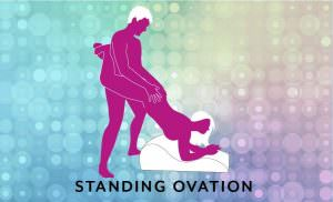 Hipster Sex Position Standing Ovation