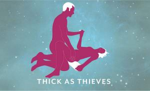 Liberator Talea Spreader Bar Sex Position Thick as Thieves