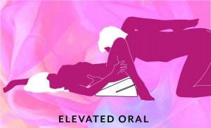 Liberator Wedge Sex Position Elevated Oral