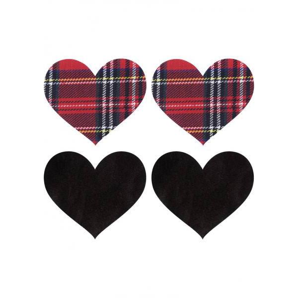 Schoolgirl Hearts Pasties
