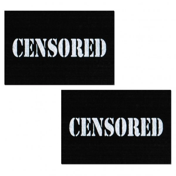 Censored Bar Pasties