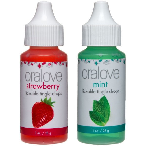 Oralove Delectable Duo Lickable Tingle Drops