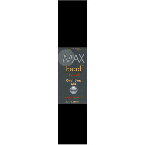 Max Head Flavored Oral Sex Gel