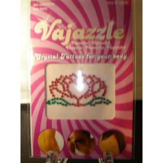 Vajazzle Flower Heart