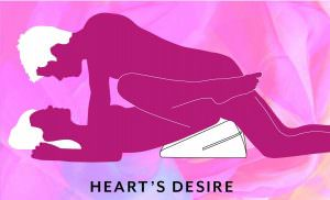 Liberator Arche Wedge Sex Position Heart's Desire