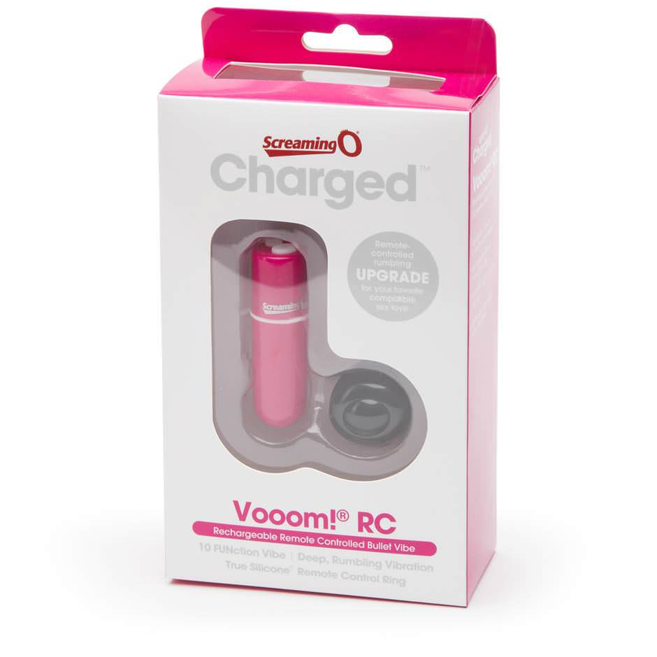 Charged Vooom Remote Control Rumbling Bullet Vibrator