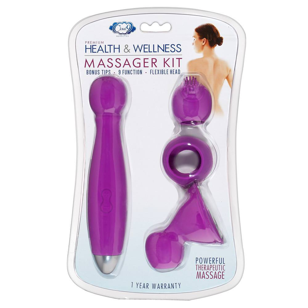 Cloud 9 Health and Wellness Massager Kit
