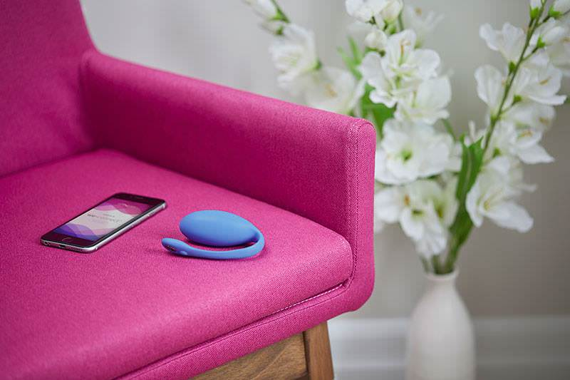 Jive Remote Controlled Rechargeable Wearable Vibrator