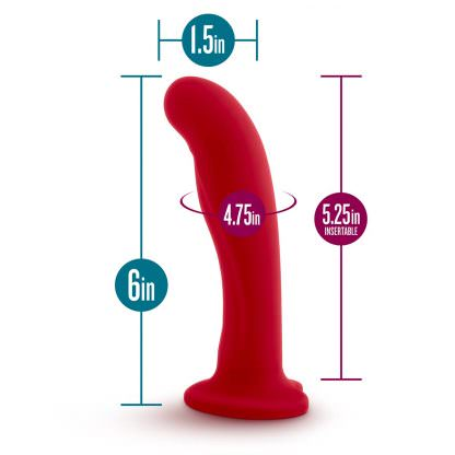 Jezebel Pure Silicone Flexible G-Spot Dildo