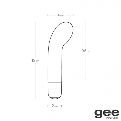 Gee Waterproof Silicone G-Spot Vibrator