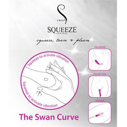 Swan Curve Rechargeable Waterproof G-Spot Vibrator