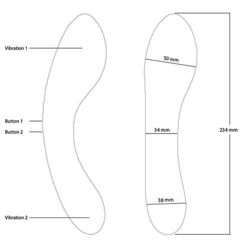 Swan Wand Rechargeable Waterproof G-Spot Vibrator