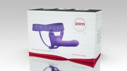 "Zoro 5.5"" Hollow Strap-On"