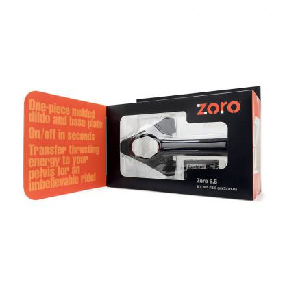 "Zoro 6.5"" Hollow Strap-On"