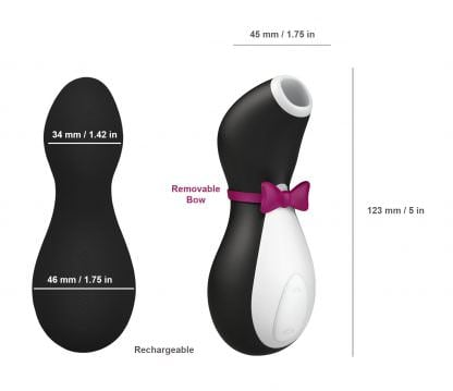 Satisfyer Pro Penguin Focused Clitoral Stimulator