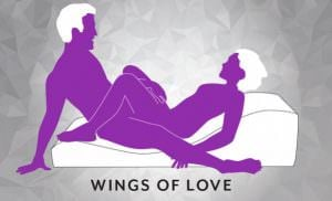 Liberator Equus Wave Sex Position Wings of Love