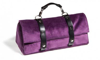 Tristan Sex Toy Storage Bag Aubergine