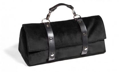 Tristan Sex Toy Storage Bag Black