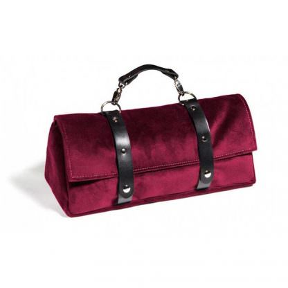 Tristan Sex Toy Storage Bag Merlot
