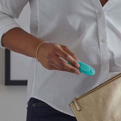 We-Vibe Moxie Wearable Vibrator In Hand Being Held
