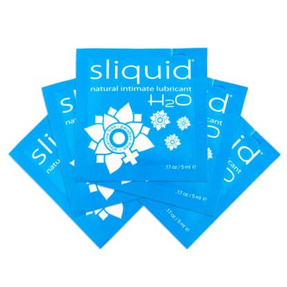 Sliquid Naturals H2O Personal Lubricant .17oz Sample Packs