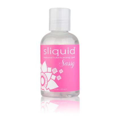 Sliquid Naturals Sassy Personal Lubricant 4oz