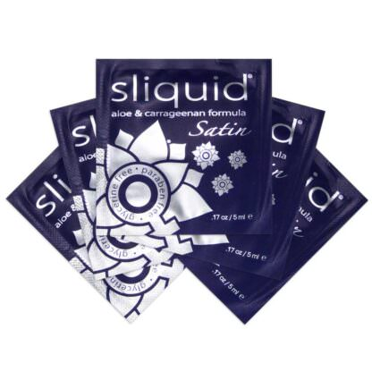 Sliquid Naturals Satin Intimate Moisturizer for Daily Use 17oz-Samples