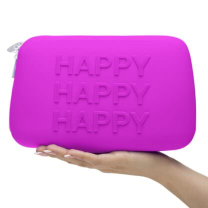 Happy Rabbit HAPPY Silicone Sex Toy Storage Bag In Hand