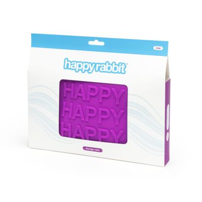 Happy Rabbit HAPPY Silicone Sex Toy Storage Bag Packaging