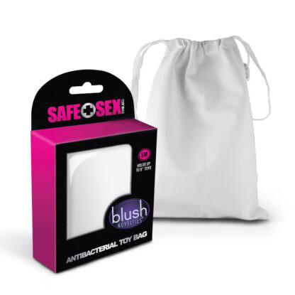 Safe Sex Antibacterial Sex Toy Bag Small