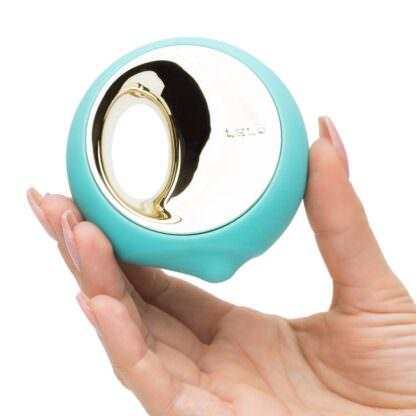 Ora 3 Oral Sex Stimulator Being Held In Hand