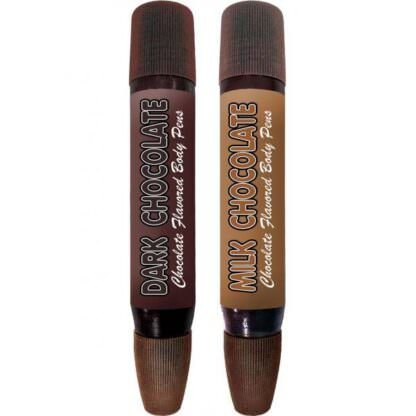 Play Pens Dark and Milk Chocolate Body Pens 2 Pack