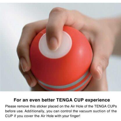 Tenga Original Vacuum CUP Stroker Sleeve Air Hole