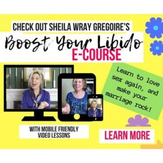 Boost Your Libido Course by Sheila Wray Gregoire